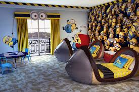 Minions Bedroom Wallpaper Loews Portofino Bay Adds Despicable Me Themed Kids Suites