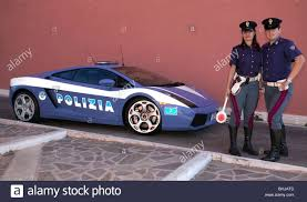 Lamborghini Gallardo supercar used by Italian police (Strdale) in ...