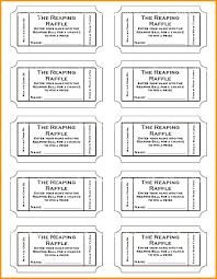 raffle software raffle maker blank raffle tickets best template design images ticket