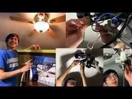 replace existing ceiling fan with