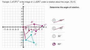 Determining Angle Of Rotation