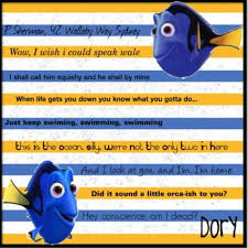 Dory Quotes Finding Nemo gotta love Dory D tv and movies Pinterest 53