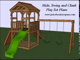 play set swingset plans easy to follow step by step