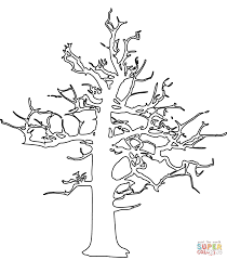 Small Picture Dead Tree coloring page Free Printable Coloring Pages