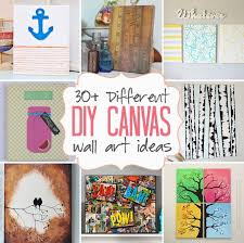 easy to make canvas wall art
