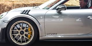 2018 porsche gt2 rs. simple porsche up front the gt2 rs rolls on 26535zr20 tyres while rear is shod  with whopping 32530zr21 rubber porsche promises prodigious grip and performance  inside 2018 porsche gt2 rs