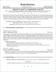Quality Analyst Cv Quality Control Resume Quality Assurance Inspector Resume Inspector