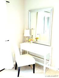 Small Vanity Table Small Vanity Table For Bedroom White Bedroom ...