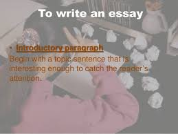 writing an argumentative essay 4 to write an essay•