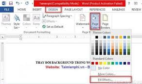 Word 2013 Themes Word Change The Background In Word 2013 2010