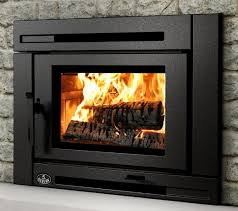 image of fireplace glass doors style