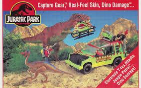 Toys of jurassic park