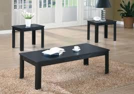 table set 3pcs set black