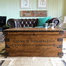 antique trunk coffee table 54 best wood crates images on