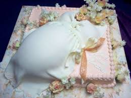 Someone Here Must Like The Boobsbelly Cake  GBCNBelly Cake For Baby Shower