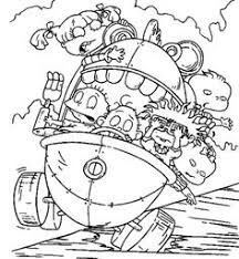 Small Picture Rugrats Tommy and Spike Coloring Page Nickelodeon 90s The