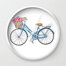 bicycle art bicycle print bicycle wall