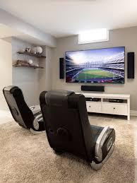 Video gaming room furniture Rec Room Video Game Room Furniture Houzz Video Game Room Design Ideas Amp Remodel Pictures Modern Furniture Video Game Room Furniture Modern Furniture