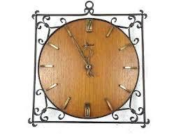 art deco wall clock reproduction teak retro vintage design  on art deco wall clock reproduction with art deco wall clocks large clock face runnertoi
