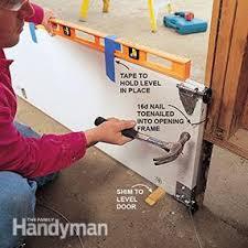 how to level a garage doorHow to Install a Garage Door  Family Handyman