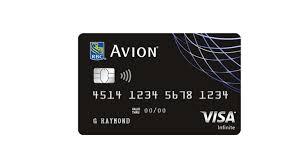 Rbc Avion Points Redemption Chart Avion Credit Card Comparison December 2019 Finder Canada