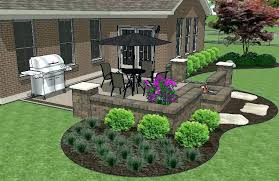 square patio designs. Unique Square Patio Designs Fire Pit Brick Pictures Square Design With Seat Wall And 3  Stone Fir Throughout Square Patio Designs B