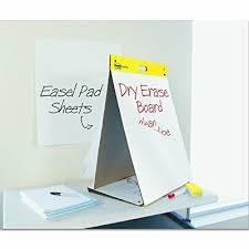3m Flip Chart 3m Portable Two In One Flip Chart And Dry Erase White Board