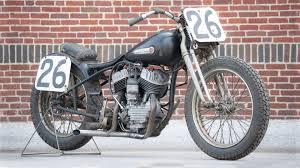 1948 harley davidson flat track racer vintage race motorcycle