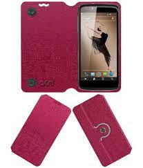 Xolo Q900t Flip Cover by ACM - Pink ...