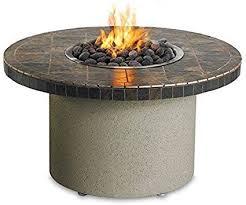 Sedona By Lynx Falcon Gray Circular Gas Fire Pit Table Propane Fire Pit Table Gas Firepit Fire Pit