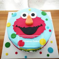 Elmo Cake Sesame Street Cake Free Delivery Food Drinks Baked