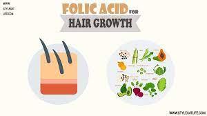 utilize folic acid for hair growth