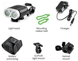 Azur 2200 Bike Light Review Azur Twin Deluxe 2200 Lm Rechargeable Front Light