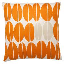 orange pillows modern orange pillows decorative orange pillows