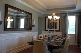 Fabulous Formal Dining Room with beautiful tray ceiling and crown moldings