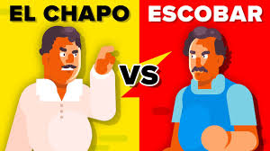 El Chapo Versus Pablo Escobar - How Do They Compare? - YouTube