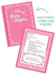 Baby Shower Wording For Library Book Themed Baby Shower Library Themed Baby Shower Invitations