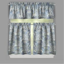 lace valances waverly window valances yellow and grey valance jcpenney