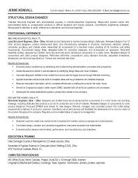 Structural engineer resume to inspire you how to create a good resume 1
