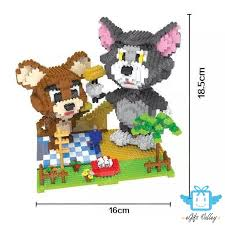 HC <b>Magic Blocks Big</b> Pokemon Pikachu, Totoro, Stitch, SpongeBob ...