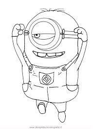 Disegno Minions28 Personaggio Cartone Animato Da Colorare