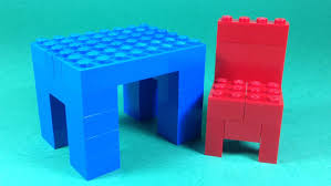 bricks furniture. how to build lego table and chair furniture 4628 lego fun with bricks building ideas for kids youtube furniture