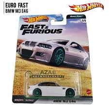 jual hot wheels bmw m3 e46 fast and