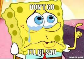 Collections that include: SpongeBob sad Meme | Slapcaption.com ... via Relatably.com