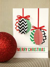 Photo Christmas Card Handmade Modern Ornament Holiday Card Hgtv