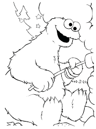 Cookie Monster Coloring Pages Monster Coloring Pages Monster