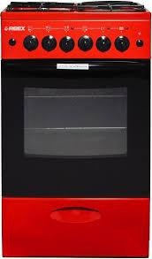 Купить Газовая <b>плита REEX CGE</b>-<b>531</b> духовка, красный в ...