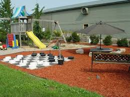 Backyard Playground Playground Ideas And Playgrounds On intended for Kid  Friendly Backyard Landscaping Ideas