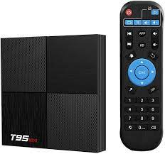 Buy T95 Mini Android 9.0 TV Box, TUREWELL Android TV Box 2GB RAM 16GB ROM TV  Box H6 Quadcore cortex-A53 Smart TV Box 2.4GHz WiFi 3D 6K Android Box  Streaming Media Player