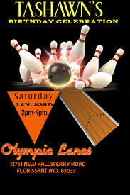Bowling Event Flyer Template Bowling Event Flyer Template